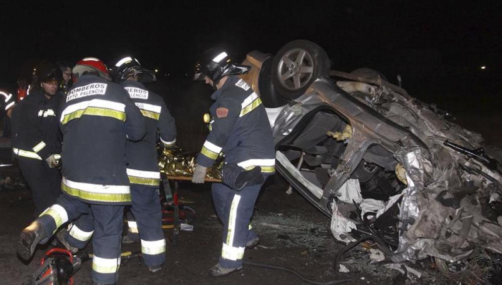 Accidente mortal en Palencia