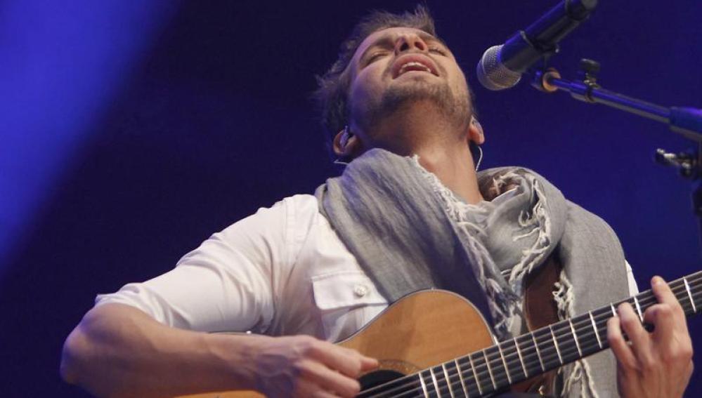 El cantante malagueño Pablo Alborán