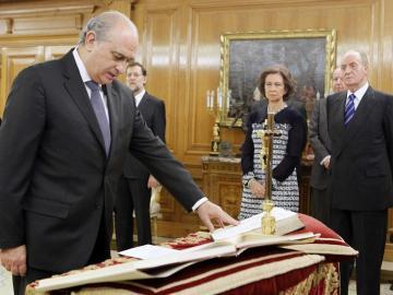 El nuevo ministro del Interior, Jorge Fernández Díaz