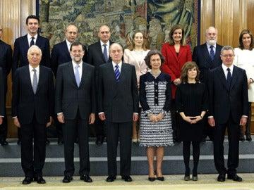La fotos de Gobierno con los ministros de Rajoy