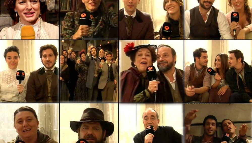 Felicitaciones navideñas de Puente Viejo