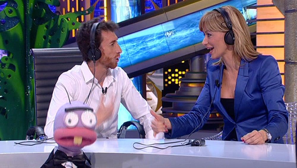 Susanna Griso visita a Pablo Motos