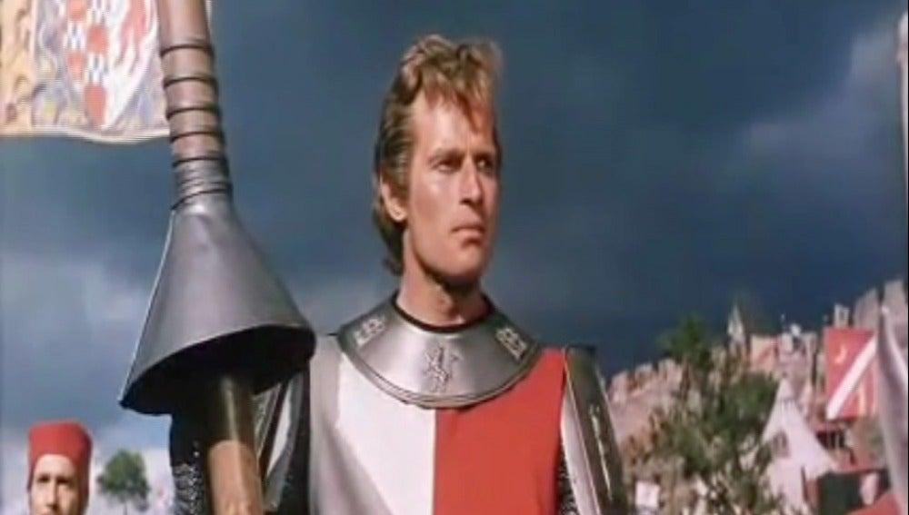 Imagen de Charlton Heston en 'El Cid'