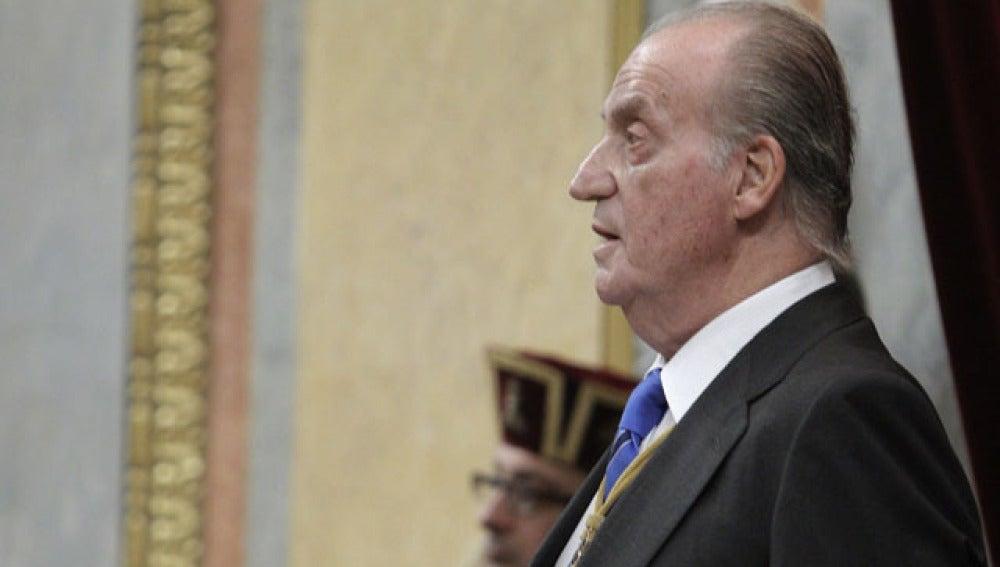 Don Juan Carlos, en el Congreso
