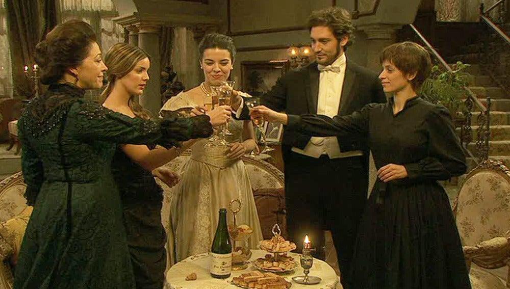 Puente Viejo celebra la Nochevieja