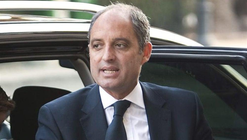 Francisco Camps, expresidente de la Generalitat