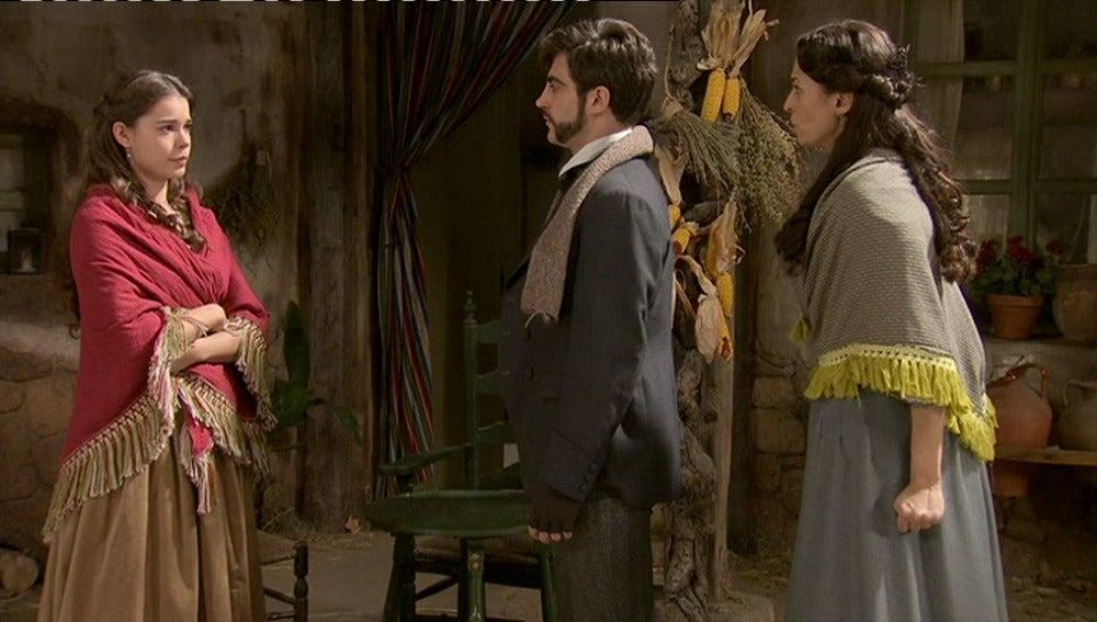 Mario visita a Inés con intención de romper su relación y se entera de su embarazo