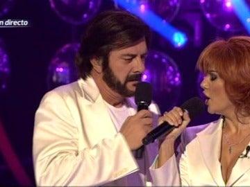 Francisco y Sylvia imitan a Pimpinela