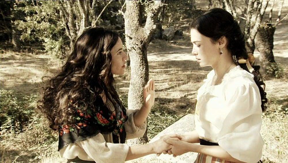 Teresa confiesa que mató a Eugenia