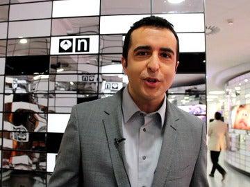 El presentador de Noticias de la Mañana, Luis Fraga