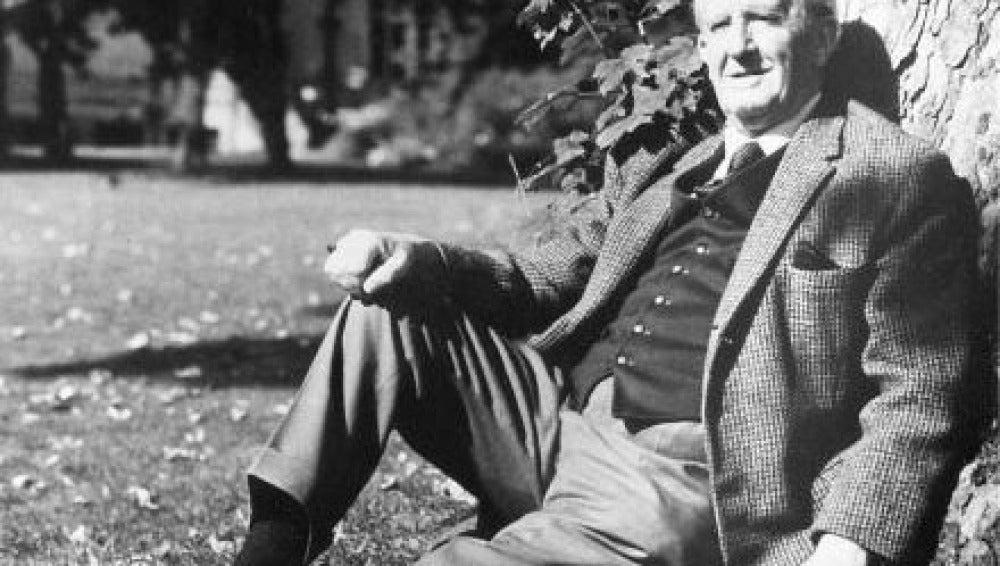 J.R.R. Tolkien, escritor de 'El señor de los anillos'