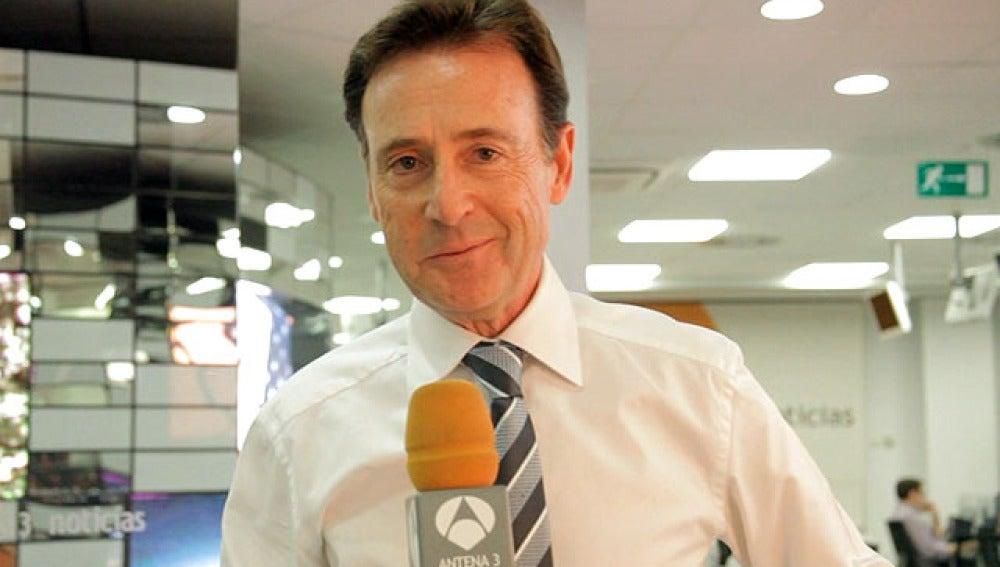 El presentador de Noticias 2, Matías Prats