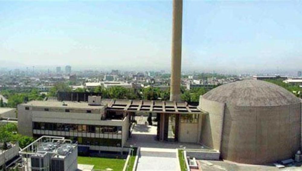 Imagen de archivo del reactor nuclear de Teherán.