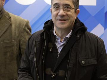 Patxi López en el Comité Federal del PSOE