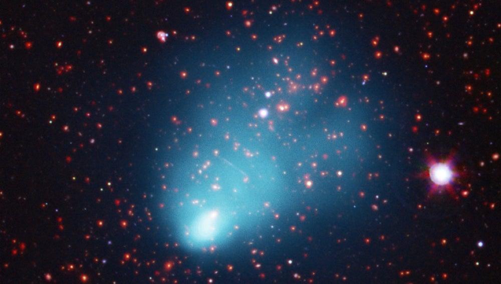 Grupo de galaxias 'El Gordo'