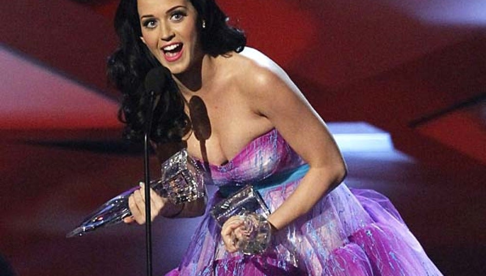 Katy Perry en la ceremonia del 2011