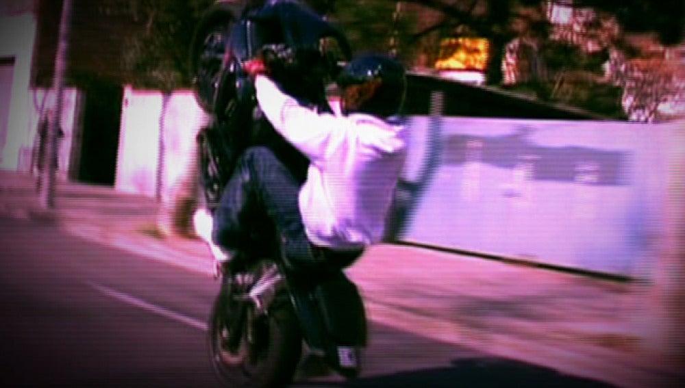 Locuras en moto