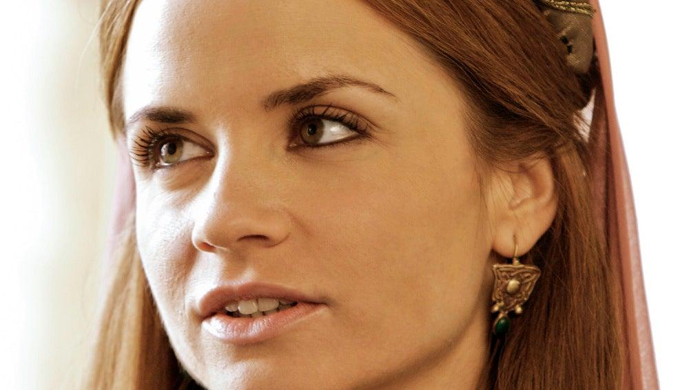 Paula Cancio es Diana