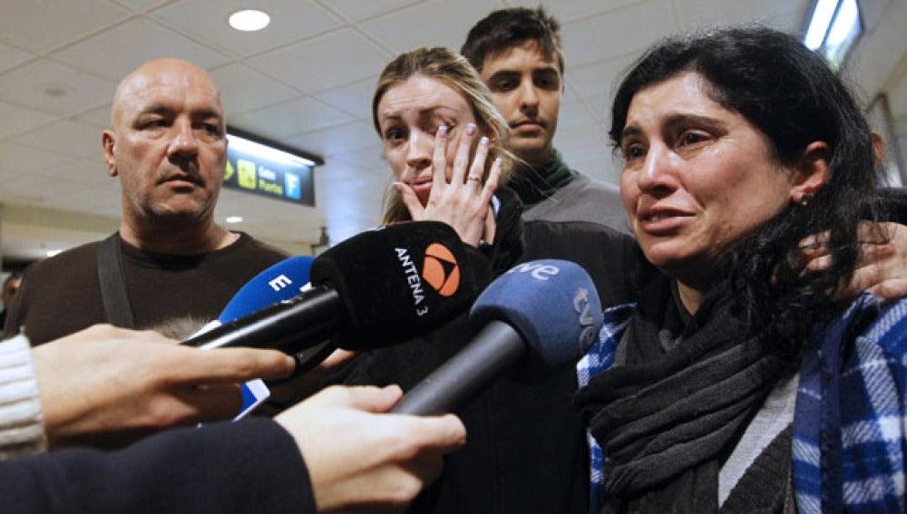 Regresan a casa los náufragos españoles
