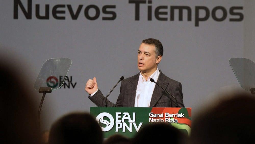 Iñigo Urkullu, presidente del PNV