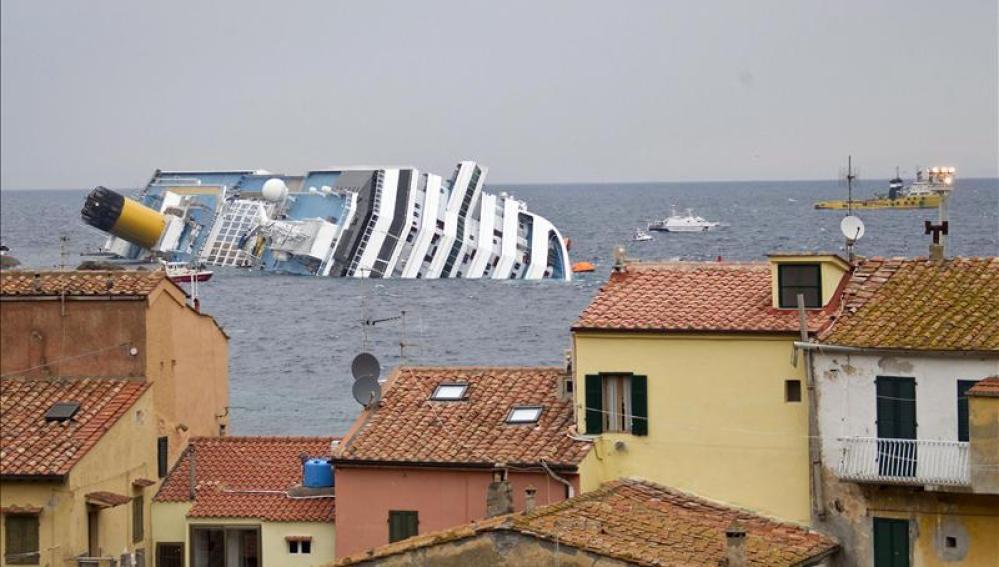 El naufragio del crucero Costa Concordia