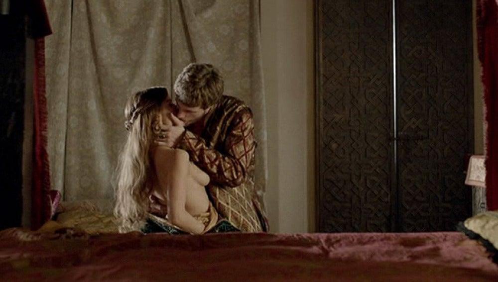 Sancho y Diana, pura pasión