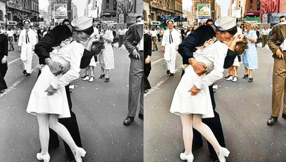 El beso de Times Square