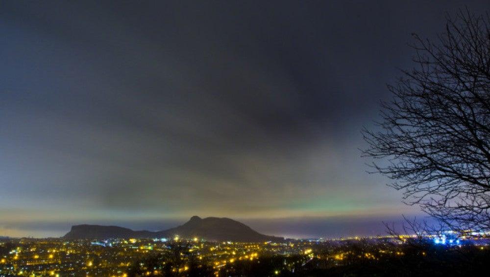 Aurora Boreal vista en Edinburgo