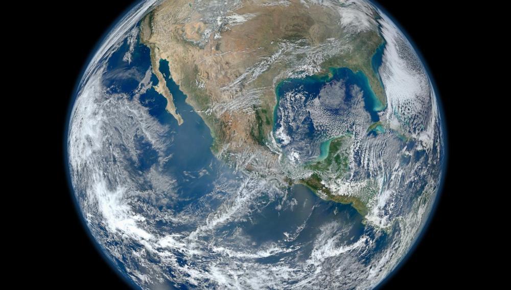 La tierra vista desde el espacio por la Nasa 2012