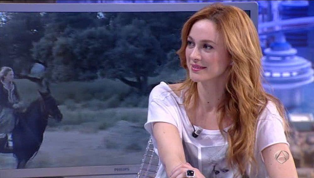 Marta Hazas en 'El Hormiguero'