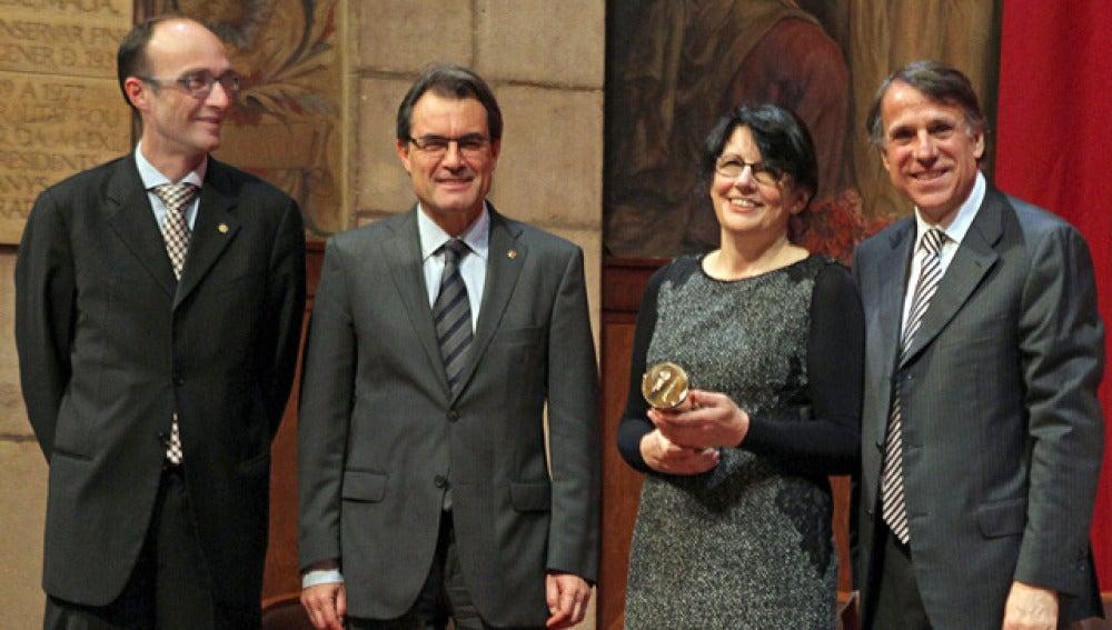 Imma Monsó, premio Ramon Llull con 'La dona veloç'
