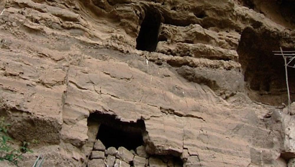Las cuevas adquiridas por el Cabildo