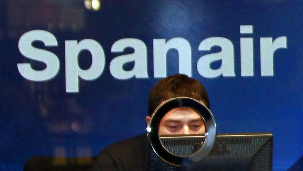Mostrador de Spanair