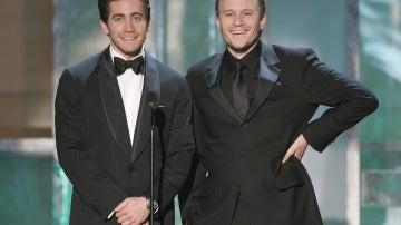 Jake Gyllenhaal y Heath Ledger