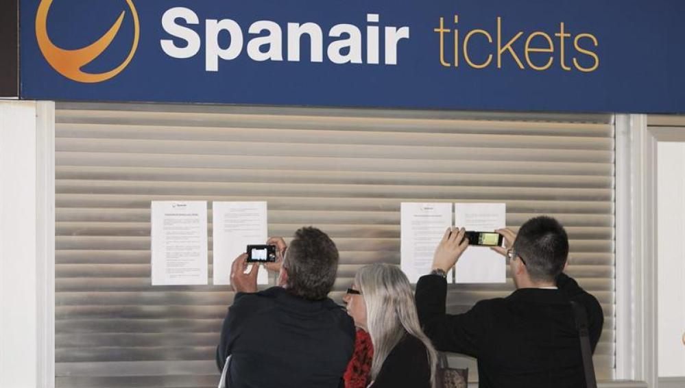 22.773 afectados por la crisis de Spanair