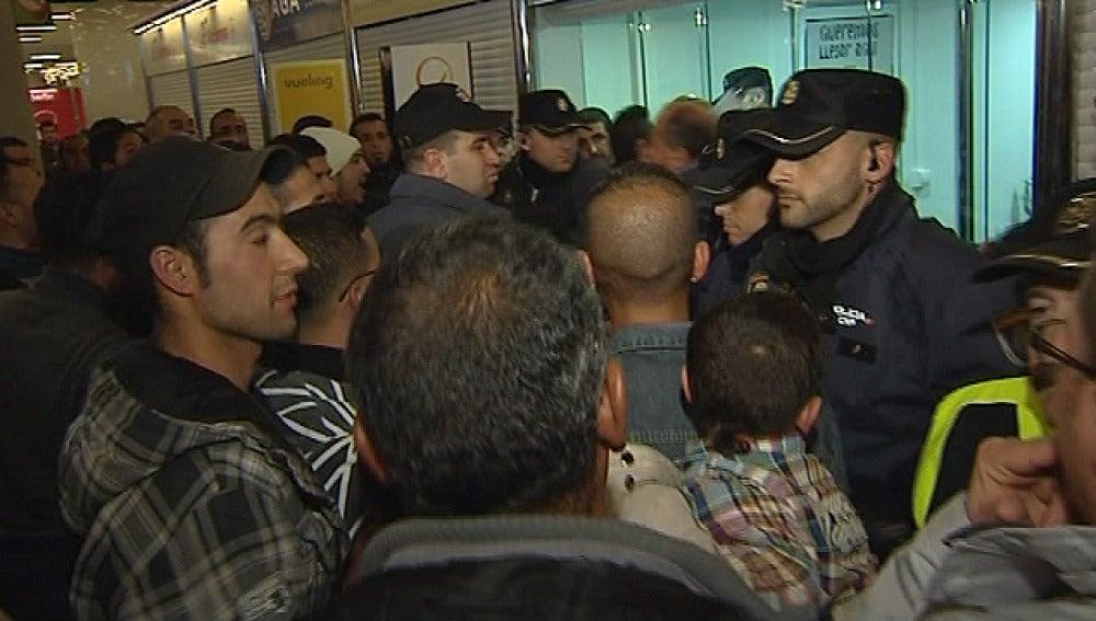 Tensión en el aeropuerto de Mallorca