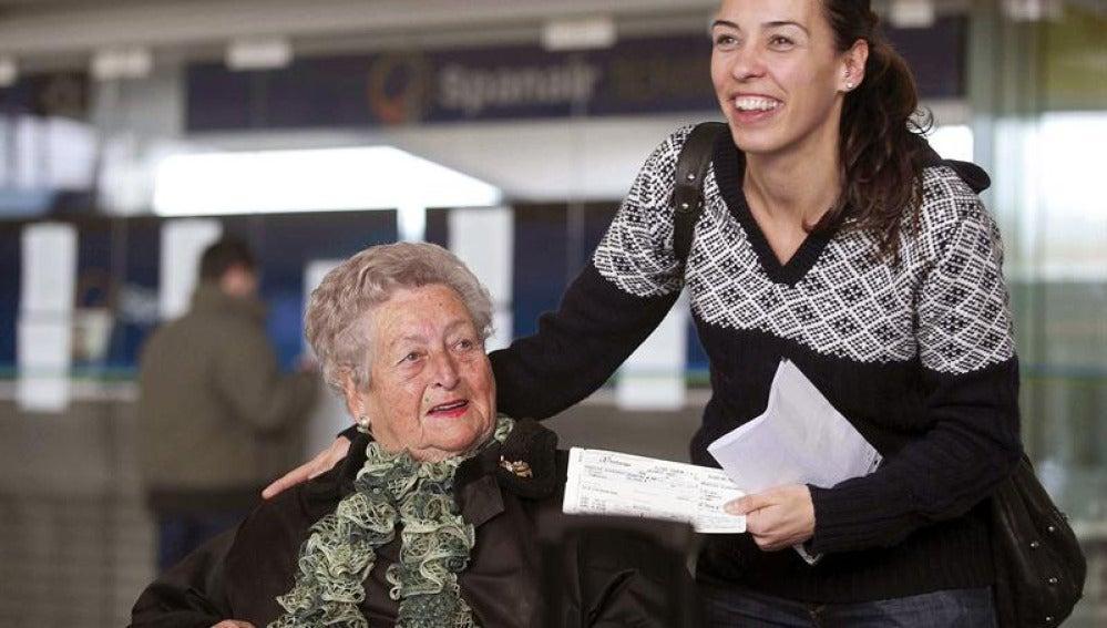 Afectados por el cese de Spanair en el aeropuerto