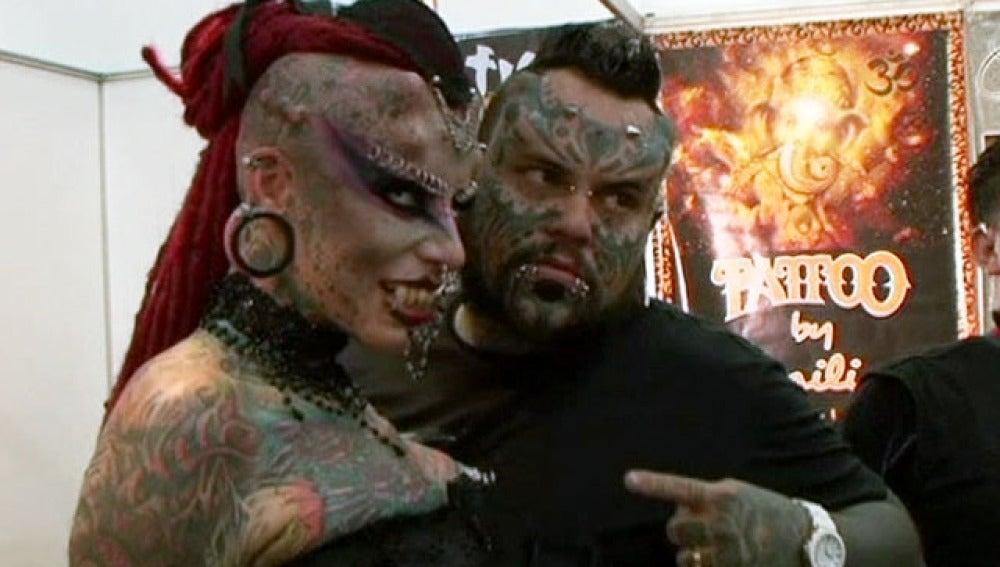 El 'paraíso' del tatuaje, en Caracas