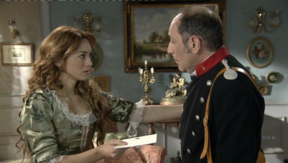 Sara encomienda a Morales una carta donde desvela las intenciones de Leonor
