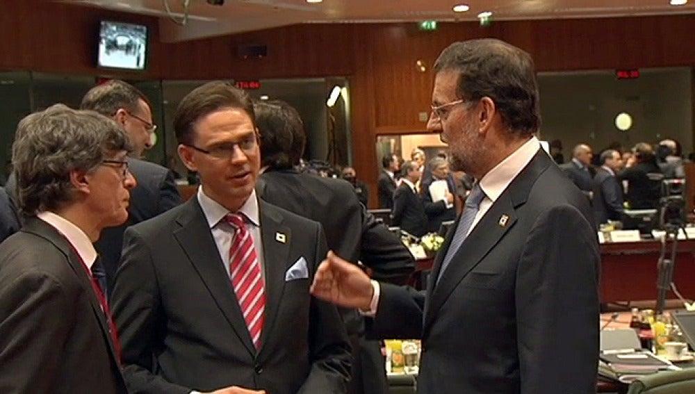 Rajoy se estrena en una cumbre europea