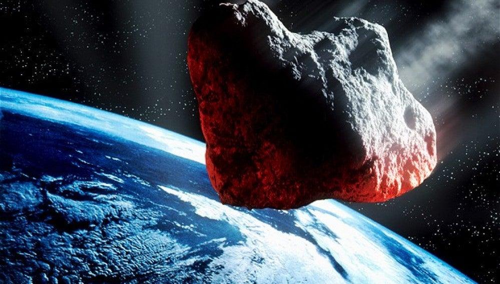 El asteroide FU162 paso cerca de la Tierra en 2004