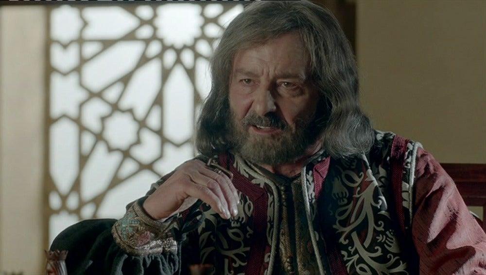 El Rey Alfonso X enfurece al oír hablar de su sucesor