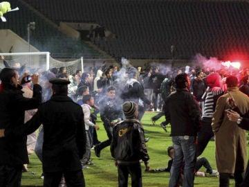 Violencia en el campo de fútbol