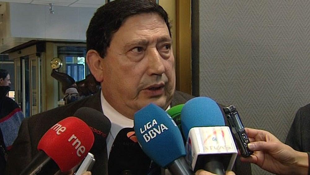 El presidente del Comité Técnico de Arbitros, Víctor Sánchez Arminio