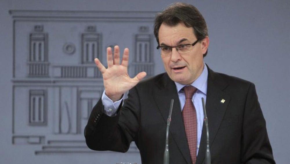 Artur Mas, en Moncloa