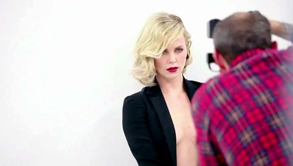 Charlize Theron para Vanity Fair