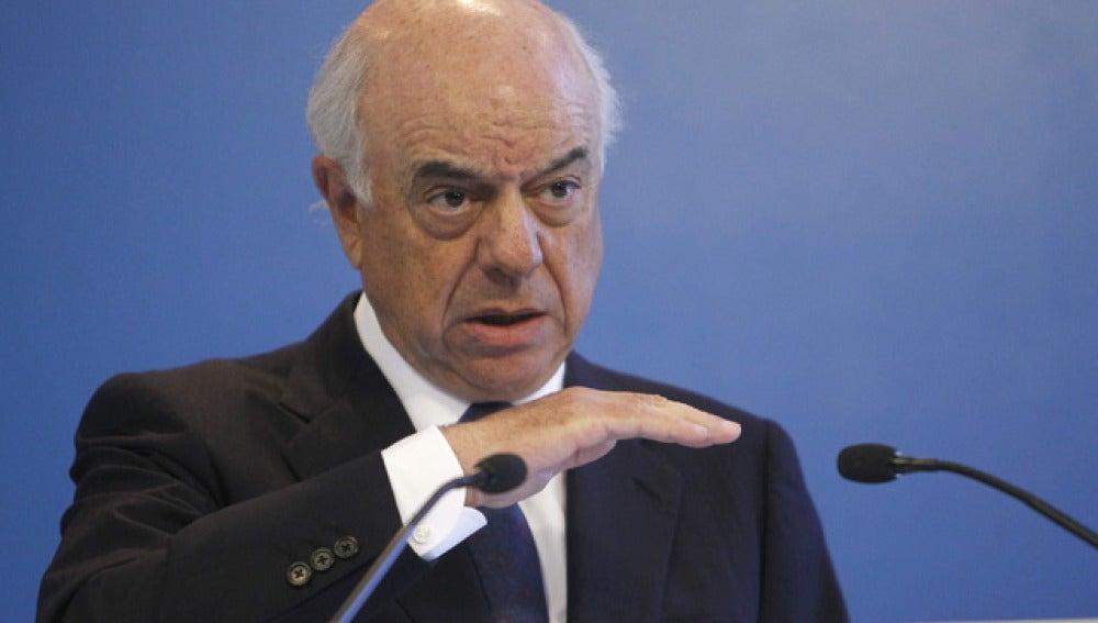 El presidente del BBVA, Francisco Gonzalez