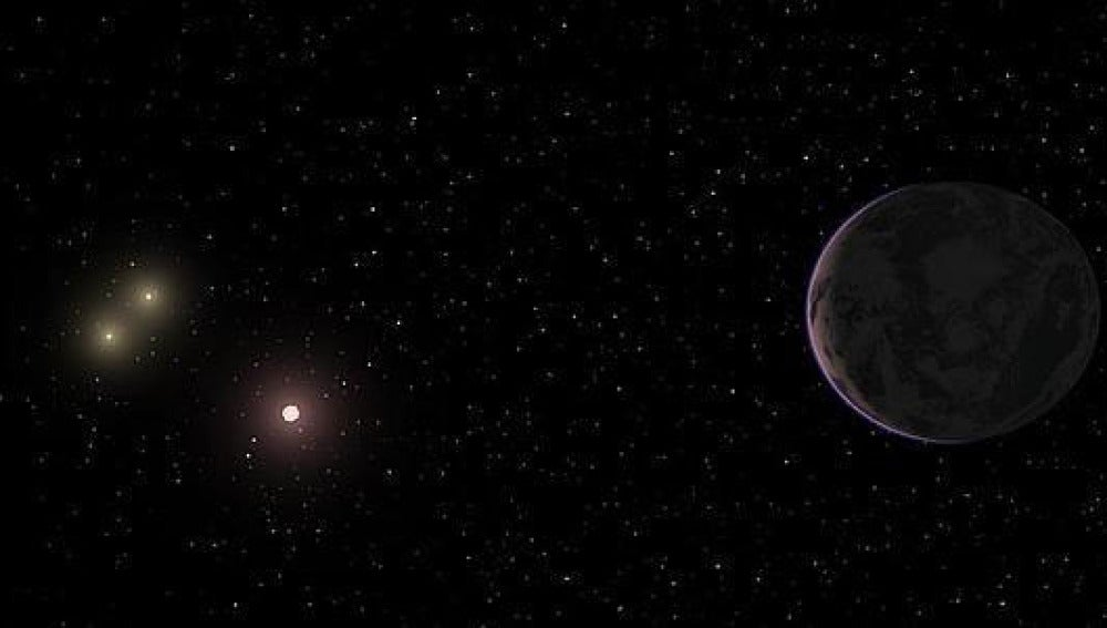Imagen de la Super-Tierra