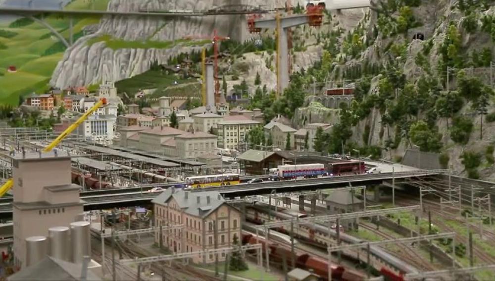 Ferrocarril en miniatura