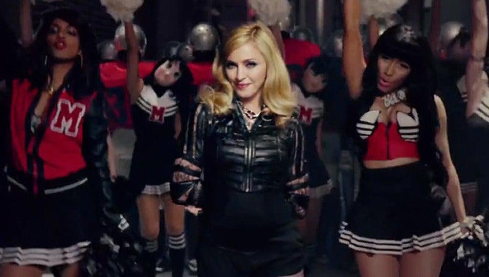 Madonna en su último videpclip